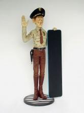 fibreglass police statues