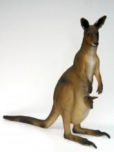 fibreglass kangaroo statues
