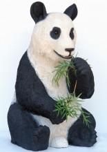 fibreglass panda statues