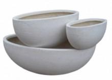 fibreglass oval bowl