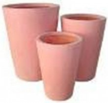Fibreglass crucibles