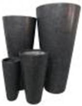 Fibreglass tall round tapered
