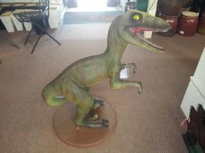 Fibreglass raptor statues