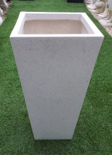Fibreglass Tall tapered square